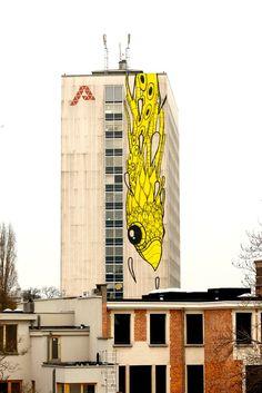 Gijs in Antwerp, Belgium.