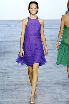 Calvin Klein Collection Spring 2006 Ready-to-Wear Fashion Show - Freja Beha Erichsen