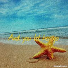 """-- #LyricArt for """"Let Her Go"""" by Passenger"""