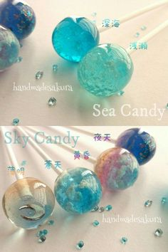 Image shared by Anime Magician. Find images and videos about ocean, candy and sweets on We Heart It - the app to get lost in what you love. Diy Resin Crafts, Diy And Crafts, Crafts For Kids, Uv Resin, Resin Art, Resin Jewelry, Jewelry Crafts, Magical Jewelry, Resin Charms