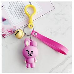 BTS x Lanyard Bell Keychain - Gotamochi is the BTS Kpop Merch and Kawaii Clothes Aesthetics Store - Shop our largest selection of Kpop and Kawaii Apparel Material: High Quality Silicon & Alloy Biscuit, Kpop Merch, Bts Chibi, Line Friends, I Love Bts, Kpop Aesthetic, Cute Characters, Clay, Charmed