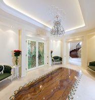 "Hall by Tatiana Bozhovskaya's ""Studio Exclusive Interior"".  Furniture by Fratelli Radice"