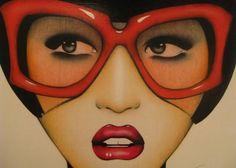 """""""Sunglasses"""" de Anja van Herle en Affordable Art Fair NY"""
