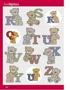 Cross stitch crazy 189 - abécédaire ourson 3