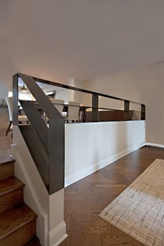 Modern Railings, Custom Stairs Chicago, Modern Staircase design Chicago, Custom Stair Design, Custom Furniture - INSTALLATIONS