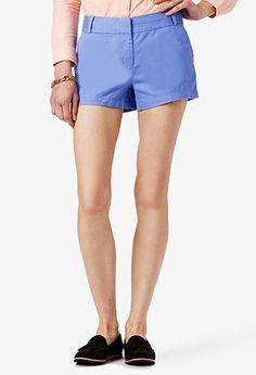 Essential Twill Shorts | FOREVER21 PLUS - 2022804971