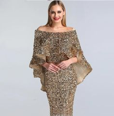 Luxury New design Arabic glitter Evening Gowns(Rose Gold/Gold) - Nirvanafourteen Wedding Dresses With Straps, Pink Prom Dresses, Short Dresses, Designer Evening Gowns, Evening Dresses, African Print Dresses, African Prints, African Fabric, African Dress