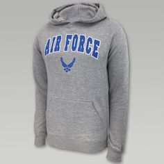Air Force Arch Wings Hood (Grey)