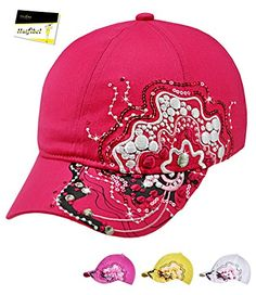 #Fiebig #Mädchenbasecap #Basecap #Baseballcap #Sommercap #Kappe #Streetwear mit…