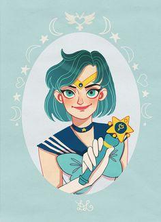 Sailor Mercury by DixieLeota.deviantart.com on @deviantART