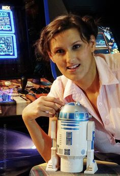 Me and R2D2 talking about Star Wars The Force Awakens