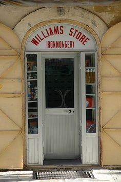 Malta - I think this is my Uncle's Store! in Valletta