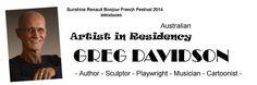 Artist in Residency: Sunshine Renault Bonjour French Festival 2014 Gold Coast