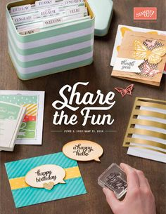 2015- 2016 Annual Stampin UP Catalog  Go to http://www.stampingmama.stampinup.net to order products now