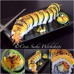 Vegan-sushi by Crea Sushi Workshops