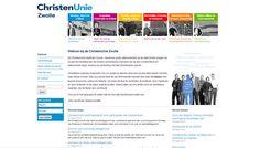 ChristenUnie Zwolle Website van de ChristenUnie in Zwolle. Website   CMS Joomla!   Ontwerp door bldsprk   www.christenuniezwolle.nl