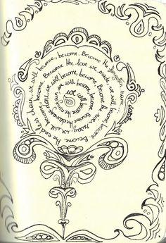 365 Days in Scribbles: Iron lyrics