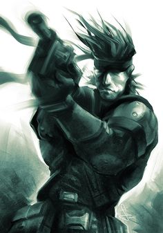 "Snake by Stanley Artgerm Lau ""A name means nothing on the Battlefield. After a week, no one has a name."""