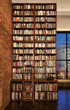 NYC bookshelf