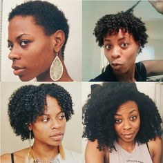 Or encourage your natural hair to get down with itself. | 17 Beautiful AF Hair Transformations You Can Copy in 2016