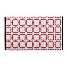 Fun Red White Pattern Caseable iPad Folio iPad Case