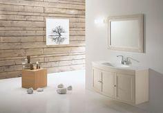 Italian design bathroom worktop - Decoration World Stone Bathroom, Design Bathroom, Bath Design, Living Area, Living Spaces, Small Sink, Lighting Concepts, Big Bathrooms, Curved Lines