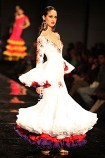 Daniel Lora-Flamenco Dresses - SIMOF 2010