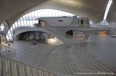 Considerado por muchos como uno de los edificios más vanguardistas de la historia de la arquitectura, el TWA Flight Center diseñado por Eero Saarinen y abierto al publico en 1962 en el aeropuerto JFK de la ciudad de Nueva York tiene un futuro incierto. Inspirado en las alas de un pájaro, la terminal sufrió junto con los problemas económicos de TWA, amenazada en varias ocasiones de ser demolida y deteriorada por el tiempo.