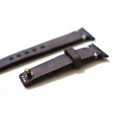 VIN.N Apple Watch Strap - Full Grain Oiled Leather/ Minimalist Style