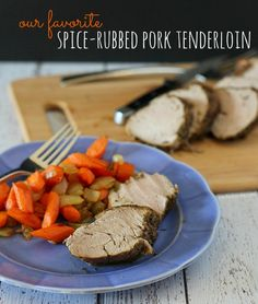 The BEST Spice-Rubbed Pork Tenderloin on RachelCooks.com