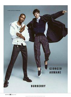 Male Fashion Trends: 'The Collections', una editorial por Matallana para GQ Style México