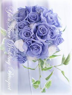 Yu's fleur (ユーズフルール)Wedding flower 港区ベイエリア flower Salon   サムシングブルーブーケ