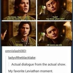 Leviathan Sam and Dean