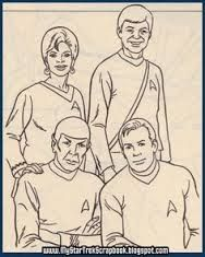 star trek the original series coloring pages - Google Search