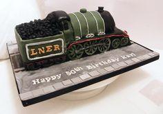 Steam train cake 2   Flickr - Photo Sharing!