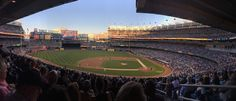 Yankee Stadium NYC during a Yankees - Red Sox game / August 4th, 2015