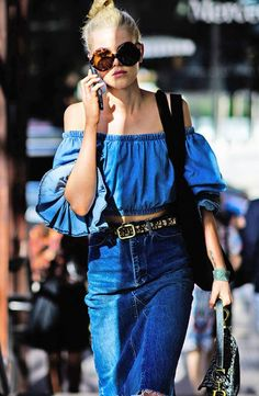Denim is forever—but as most womenknow, jeans can feel a bit stifling in sweltering temps. For a lighter take, chambray is the answer—its mottled appearance offers a look akin to jeansbut with a more breathable effect courtesy of the linen-finishedfabric.