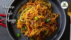 Chinese style Masala Maggi recipe | 5 mins instant noodles recipe | Street style Masala Maggi - YouTube Maggi Recipes, New Recipes, Soup Recipes, Snack Recipes, Snacks, Maggi Soup, Chinese Noodle Recipes, Oriental Food, Different Recipes