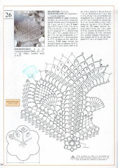 Photo from album Mailles Nomero special hors-serie Le crochet on Yandex. Crochet Doily Diagram, Crochet Doily Patterns, Crochet Chart, Thread Crochet, Filet Crochet, Crochet Motif, Crochet Doilies, Pineapple Crochet, Crochet Tablecloth