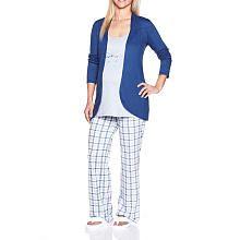 """Thyme Maternity Now & After Cardigan Pajama Set - Thyme Maternity - Babies """"R"""" Us Maternity Pajamas, Babies R Us, Pajama Set, 3 Piece, Blazer, My Style, Baby, Jackets, Fashion"""