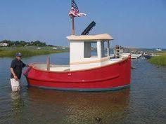 Tubby Tug Tugboat For Kids Boat Design Glenn L Marine Plans - Bolger micro trawler boats