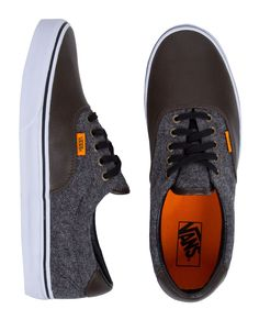 Vans Era // Herringbone and Leather