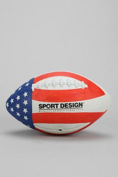 #UrbanOutfitters          #Apparment #Games         #pigskin #measurements #overview #wipe #content #patriotic #spiral #clean #construction #football #durable #flag #rubber #care #american #super #design #mini                         Flag Football             Overview:  * Check out that patriotic spiral  * Mini pigskin topped with an American flag design  * Super durable rubber construction    Measurements:  * 8.5l  * 6lbs    Content & Care:  * Rubber  * Wipe clean  * Imported…
