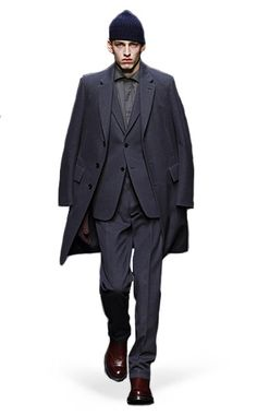 Ermenegildo Zegna Couture: Fall Winter 2014-15 Fashion Show by Stefano Pilati – Look 1