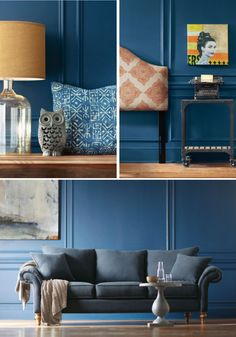 Blue Rooms on Pinterest Behr Paint Behr and Color Blue