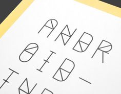 ANDROID TYPEFACE