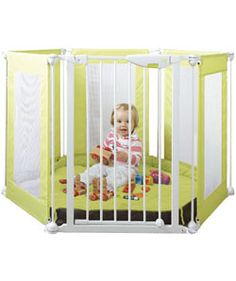 Mothercare Fabric Playpen - Green