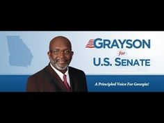 My last speech and probably my best - Take care.  Grayson's Last Political Speech - 3rd Annual Tea Party Forum
