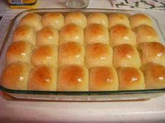 the best recipes of all time: Easy Big Fat Yeast Rolls