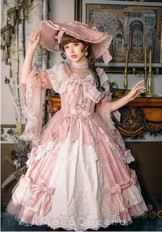 Hinana -Platinum Banquet- Vintage Classic Lolita OP Dress Source by lolitawardrobe dress classic Harajuku Fashion, Kawaii Fashion, Lolita Fashion, Cute Fashion, Rock Fashion, Emo Fashion, Style Lolita, Mode Lolita, Gothic Lolita